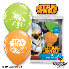 Star Wars Balloons 6 Pack